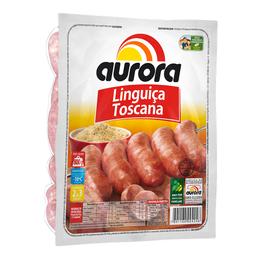 Linguiça Suína Toscana Congelada Aurora 800g