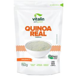 Farinha de Quinoa Real Orgânica Vitalin 150g