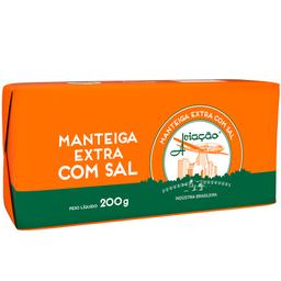Manteiga Extra com Sal Tablete Aviação 200g