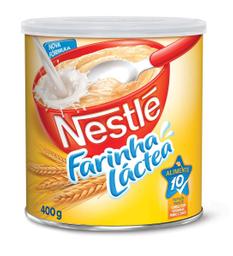 Farinha Láctea Tradicional Nestlé Lata 400g