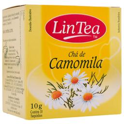 Chá de Camomila Lin Tea 10g com 10 unidades