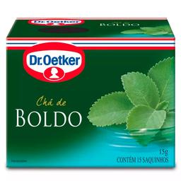 Chá de Boldo Dr. Oetker 15g com 15 unidades