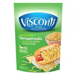 Batata Palha Temperada Visconti Pacote 140g