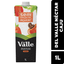 Néctar de Caju sem Açúcar Del Valle 1 Litro