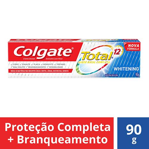 Colgate Creme Dental Total 12 Whitening