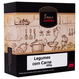 Sopa de Creme de Legumes e Carne Mambo 400g