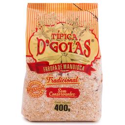 Farofa de Mandioca Tradicional D'Goiás 400g