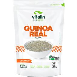 Quinoa Real Orgânica em Flocos Vitalin 120g