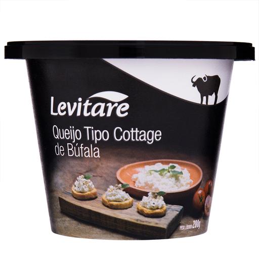 Levitare Queijo Tipo Cottage de Búfala