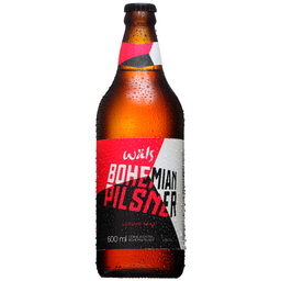 Cerveja Wals Bohemian Pilsner One Way 600ml