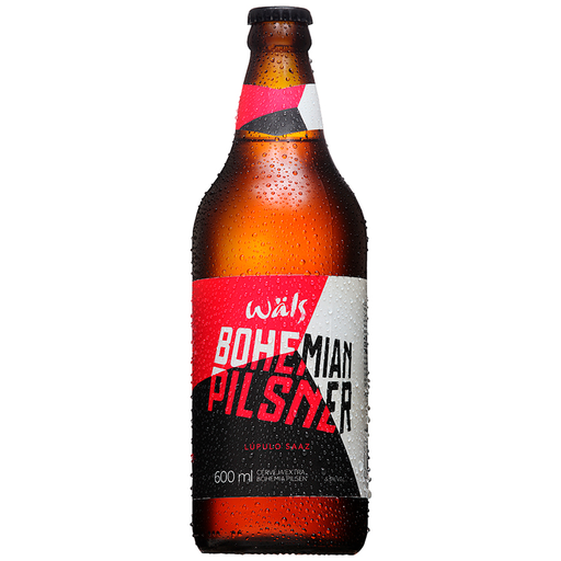 Wäls Cerveja Wals Bohemian Pilsner One Way 600Ml