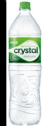 Água Mineral com Gás Crystal Pet 1,5 Litro