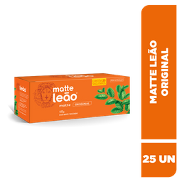 Chá Matte Leão Original - 25 Sachês