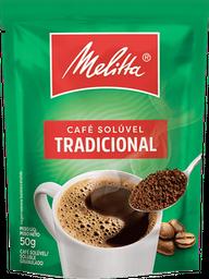 Café Tradicional Solúvel Melitta Sachê 50g