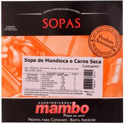 Sopa de Mandioca com Carne Seca Mambo 400g