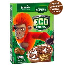 Cereal Eco Chocoballs Orgânico Native 270g