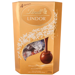 Chocolate Lindor Smooth Sortido Lindt 200g