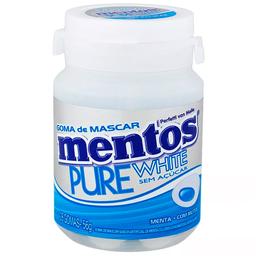 Goma de Mascar Pure Fresh White Mentos 56g