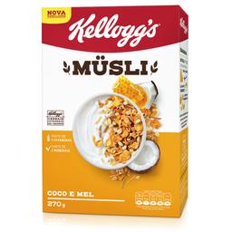 Cereal de Coco e Mel Musli Kellogg's 270g