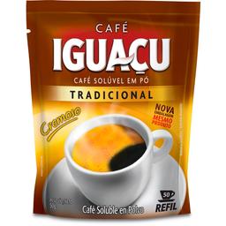Café Tradicional Solúvel Iguaçu Refil 50g