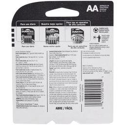 Pilha Alcalina AA Duracell com 2 unidades