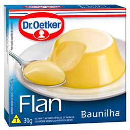 Flan de Baunilha Sem Calda Dr. Oetker 30g