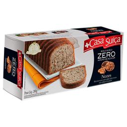 Bolo de Nozes Zero Açúcar Casa Suíça 280g
