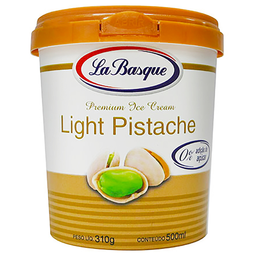 Sorvete Light de Pistache La Basque 500ml