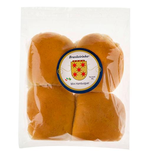 Brasileirinho Mini Pão de Hambúrguer