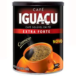 Café Solúvel Extra Forte Iguaçu Lata 200g