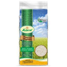 Arroz Agulhinha Polido Orgânico Korin 1Kg