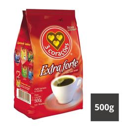 Café Extraforte Almofada 3 Corações 500g