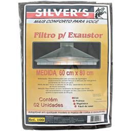 Filtro para Exaustor Silvers 02 unidades