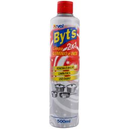 Limpa Alumínio e Inox Líquido Byts 500ml