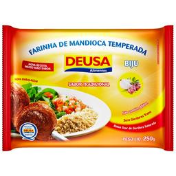 Farinha de Mandioca Temperada Deusa 250g