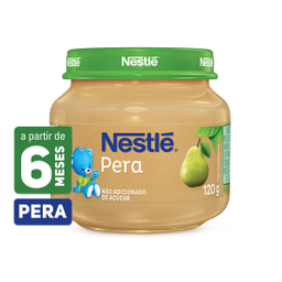 Alimento Infantil Sabor Pera Nestlé 120g