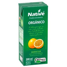 Néctar de Maracujá Orgânico Native 200ml