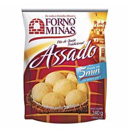 Pão de Queijo Assado Forno de Minas 240g