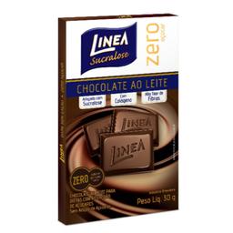 Chocolate Ao Leite Zero Açúcar Linea 30g