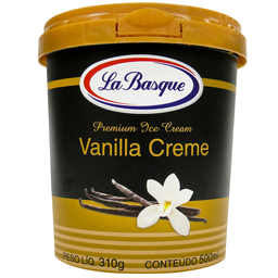 Sorvete de Vanilla Creme La Basque 500ml