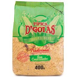 Farofa de Milho Tradicional D'Goiás 400g