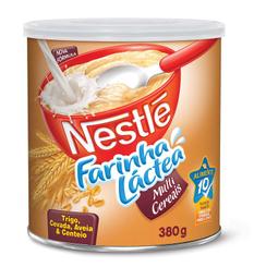 Farinha Láctea Multi Cereais Nestlé 380g
