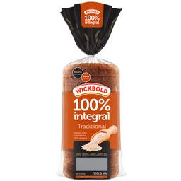 Pão de Forma 100% Integral Wickbold 400g