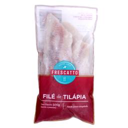 Filé de Tilápia Congelado Frescatto 500g