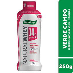 Iogurte Whey de Morango Verde Campo 250g
