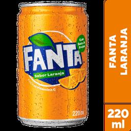 Refrigerante de Laranja Fanta Lata 220ml