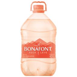 Água Mineral sem Gás Bonafont 4,5 Litros