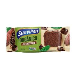 Bolo Orgânico de Chocolate Suavipan 200g