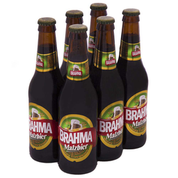 Cerveja Brahma Malzbier Long Neck 355ml