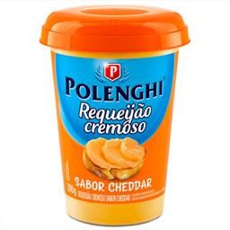 Requeijão Cremoso Cheddar Polenghi 200g